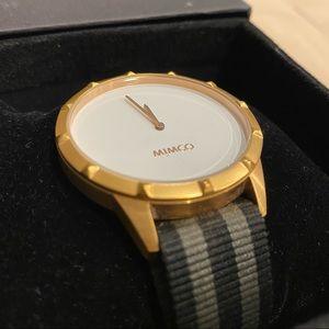 Sleek Minimal Professional Timepiece by Mimco